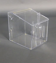 Acrylic Displays, Food and Bulk Dispensers, Cubes, Display Cases