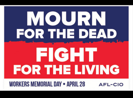 CT AFL-CIO Workers Memorial Day 2020