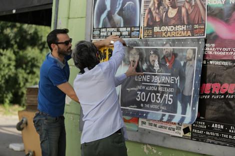 Screenprinted Posters!