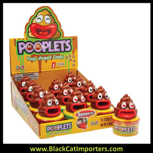 Pooplets - Poop Shaped Candy 12ct