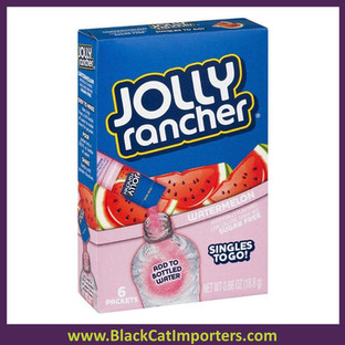 Jolly Rancher Singles To Go Drink Mix, Watermelon, 12x6 Packets