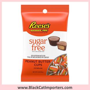 Reese's Mini Peanut Butter Cup - SUGAR FREE 3oz 12ct