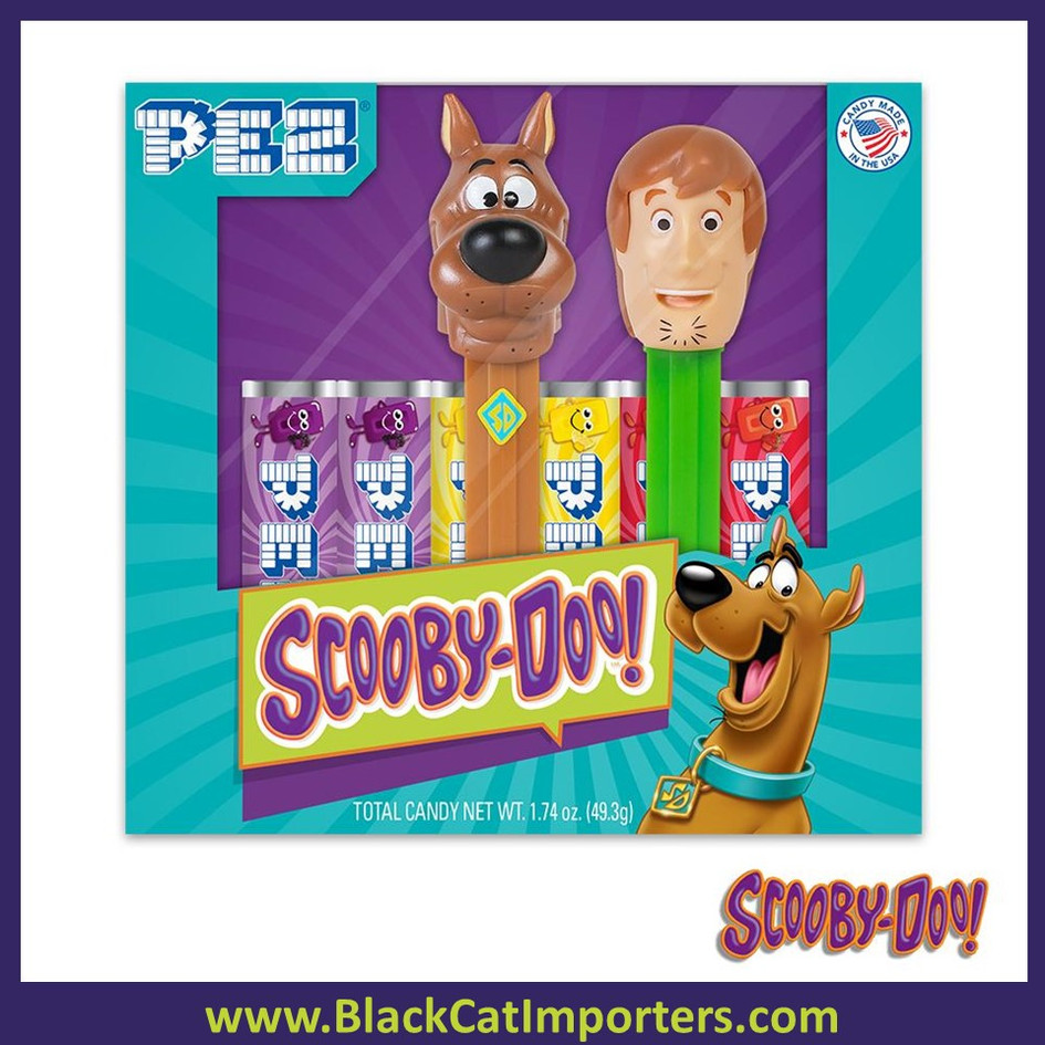 Pez Twin Pack Gift Set - Pez Scooby Doo Twin Pack 12ct