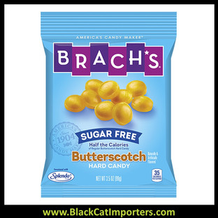 Brach's Sugar Free Peg Bag Butterscotch Disks 3.5oz 10ct
