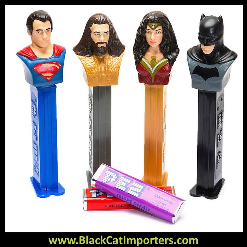 Pez Blister Packs - Justice League Assortment 12ct Display