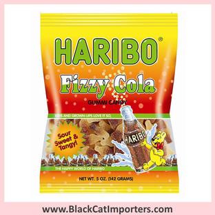 Haribo Gummies / Fizzy Cola / Peg Bag