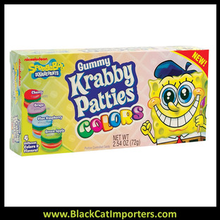 SpongeBob Gummy Krabby Patties / Colors / Theater Box
