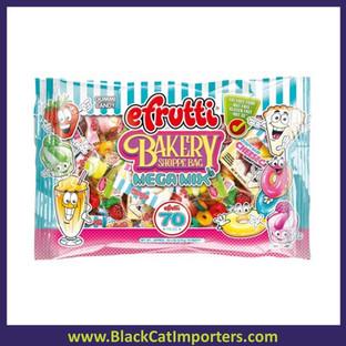 EFrutti Theme Gummi Bakery Shoppe Bag Mega Mix 70ct  3 Bags