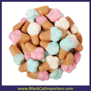 Gummi Ice Cream Cones Candy Bulk 5lb Bag