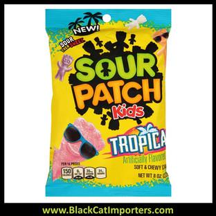 Sour Patch Kids Peg Bag Tropical 5oz 1/12ct