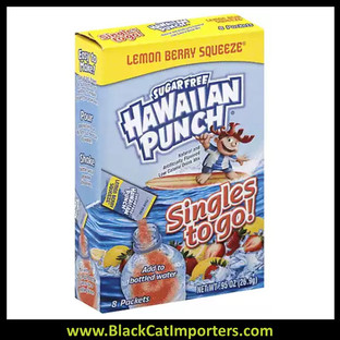 Hawaiian Punch Singles to Go S/F Drink Mix, Lemon Berry Squeeze 12/6 Packets