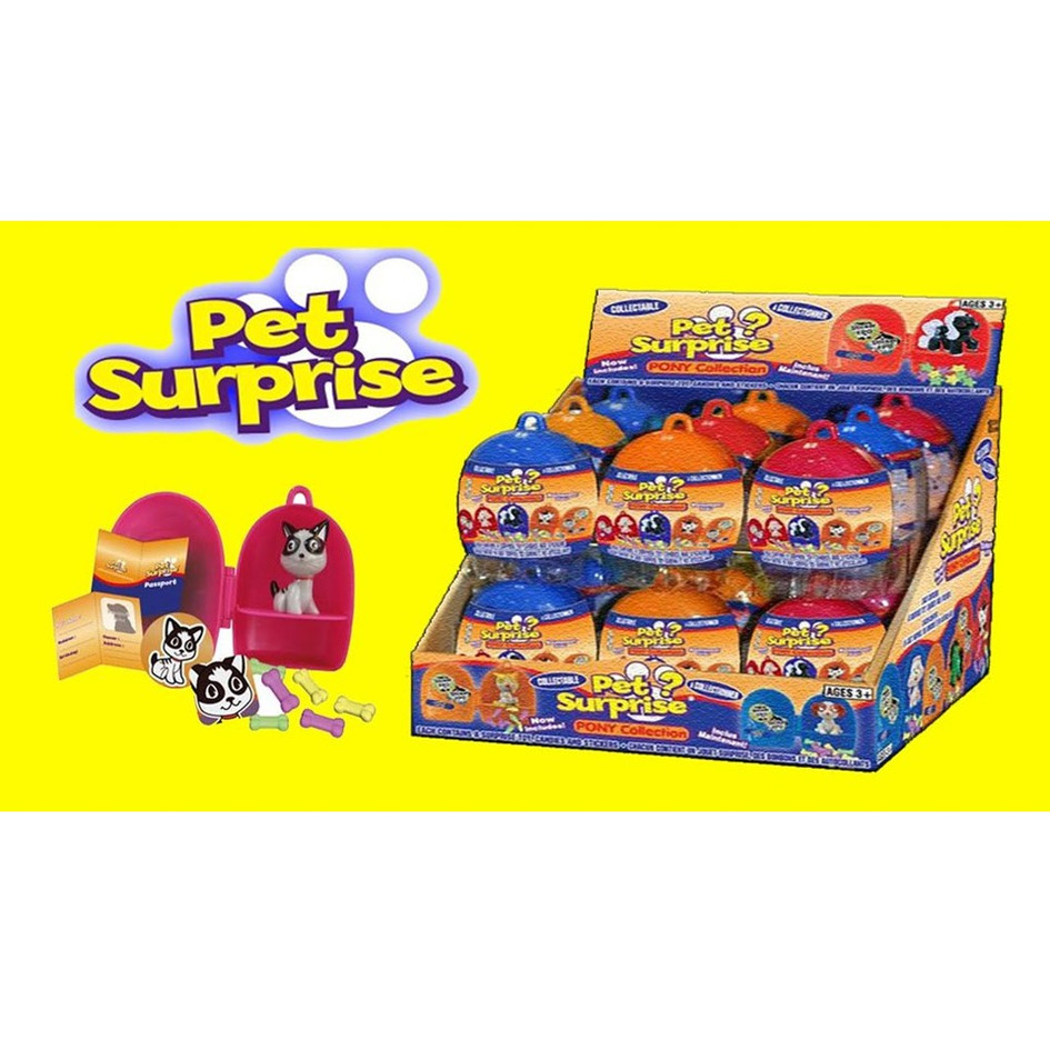 Pet Surprise Pony Collection 18ct