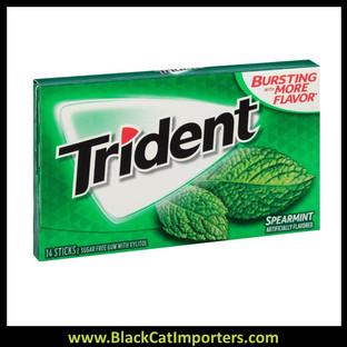 Trident Super Pack Sugar Free Gum Spearmint 12-Pack