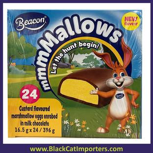 EASTER BEACON Custard Mallow Eggs 24ct
