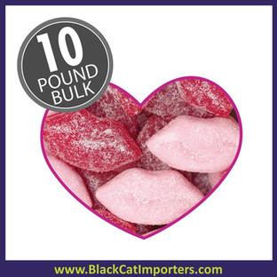 Jelly Belly Bulk Sour Pucker Lips 4.54 kg