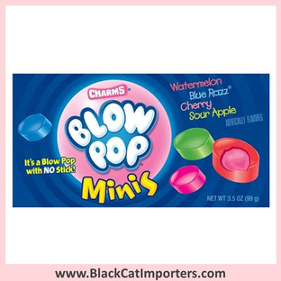 Charms Blow Pop Minis / Theater Box