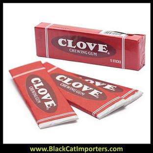 Nostalgia Clove Gum 5-Stick Packs: 20-Piece Box