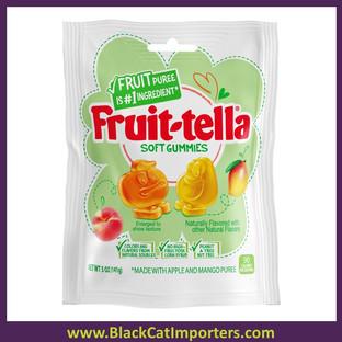 Fruit-tella Gummies Peach / Mango 3.2z 12ct