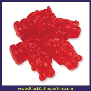 Juju Cinnamon Gummy Bears Bulk 5lbs Bag