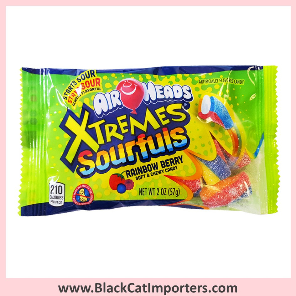 AirHeads Xtremes Sourfuls Chews / RainbowBerry