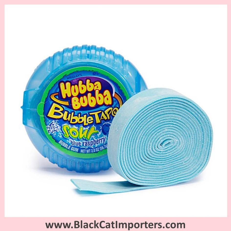 Hubba Bubba Bubble Tape Gum / Sour Blue Raspberry