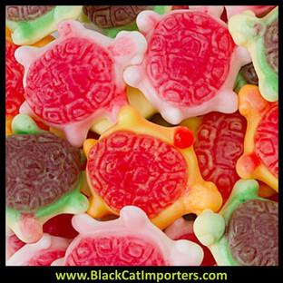 VIDAL Bulk Jelly Filled Gummy Turtles Candy 2/2.2lb