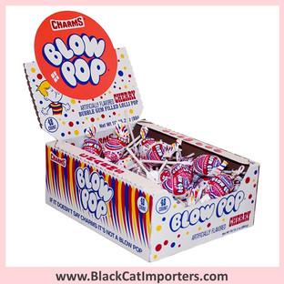 Charms® Blow Pop Lollipops Cherry - 48-ct (Peanut Free)