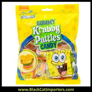 SpongeBob Gummy Krabby Patties Peg Bag