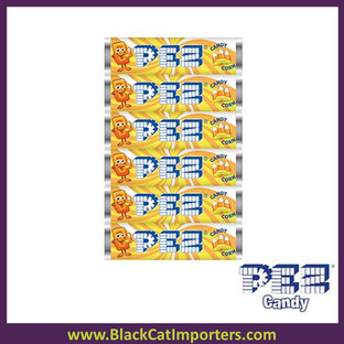 Pez Candy Refill Candy Corn Flavor 6PK 12ct