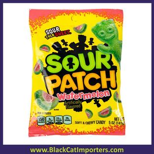 Sour Patch Watermelon Peg Bag 12/5oz