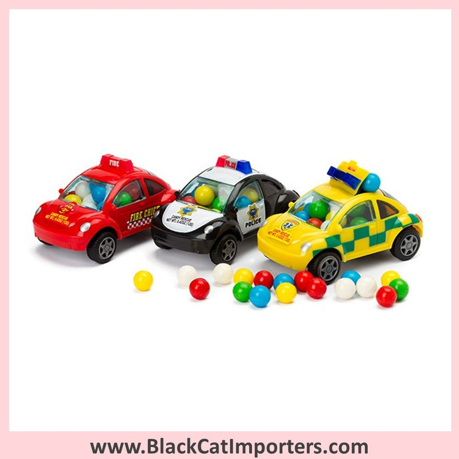 Rescue Car Candy Filled Emergency Vehicles 12-Piece Box