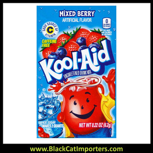 Kool-Aid Unsweetened 2QT Mixed Berry Flavored Drink Mix, 48Unit