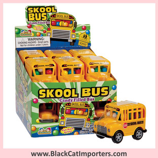 Skool Bus Candy Filled School Buses 12-Piece Box
