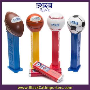 Pez Blister Packs - PEZ Sports Assortment 12ct Display