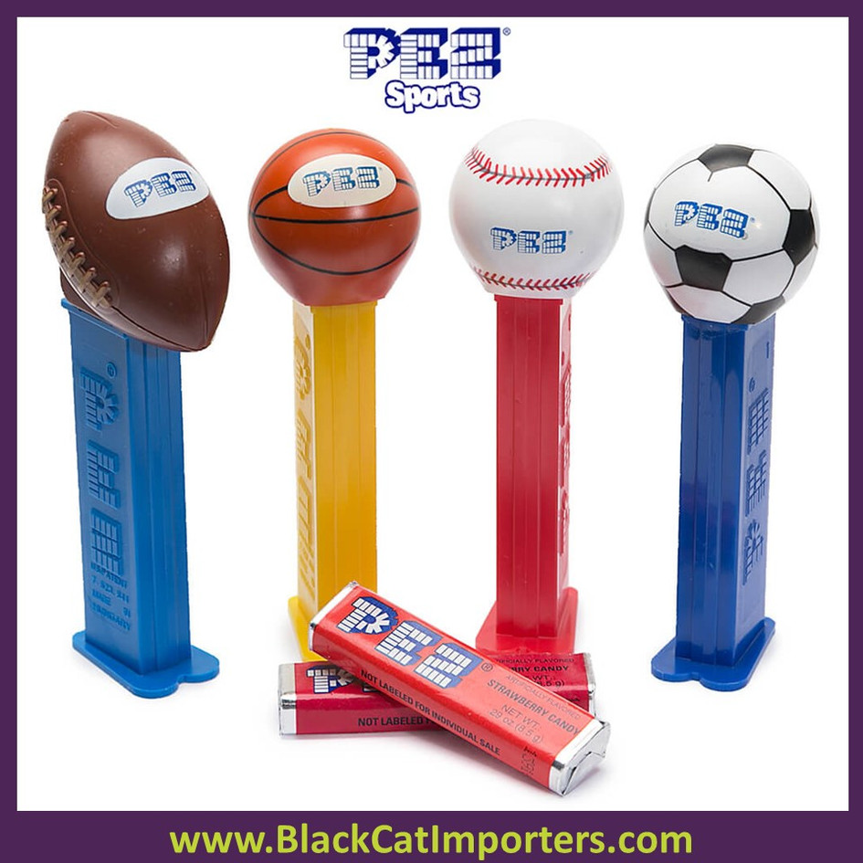 Pez Blister Packs - PEZ Sports Assortment 12ct Display
