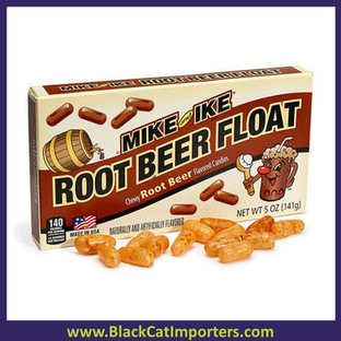 Mike and Ike Root Beer Float Candy Theater Size 12-ct.