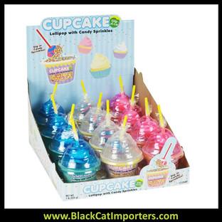 Cupcake Dip-N-Lik® with Sprinkles 12ct