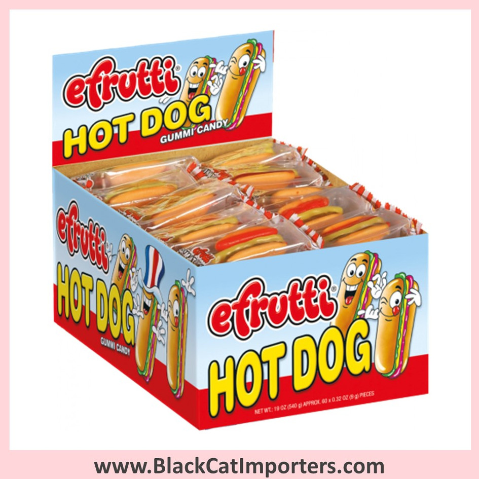 EFrutti Hot Dog Gummies