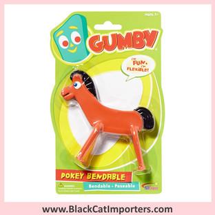 "Gumby - Pokey Bendables 6"" 4Pcs / Pack"