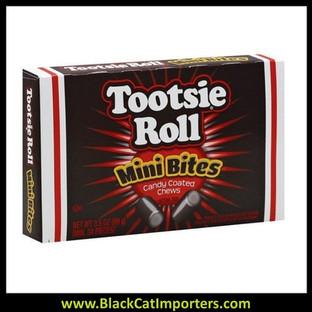 Tootsie Roll Theater Size Mini Bites 12ct 3.5oz