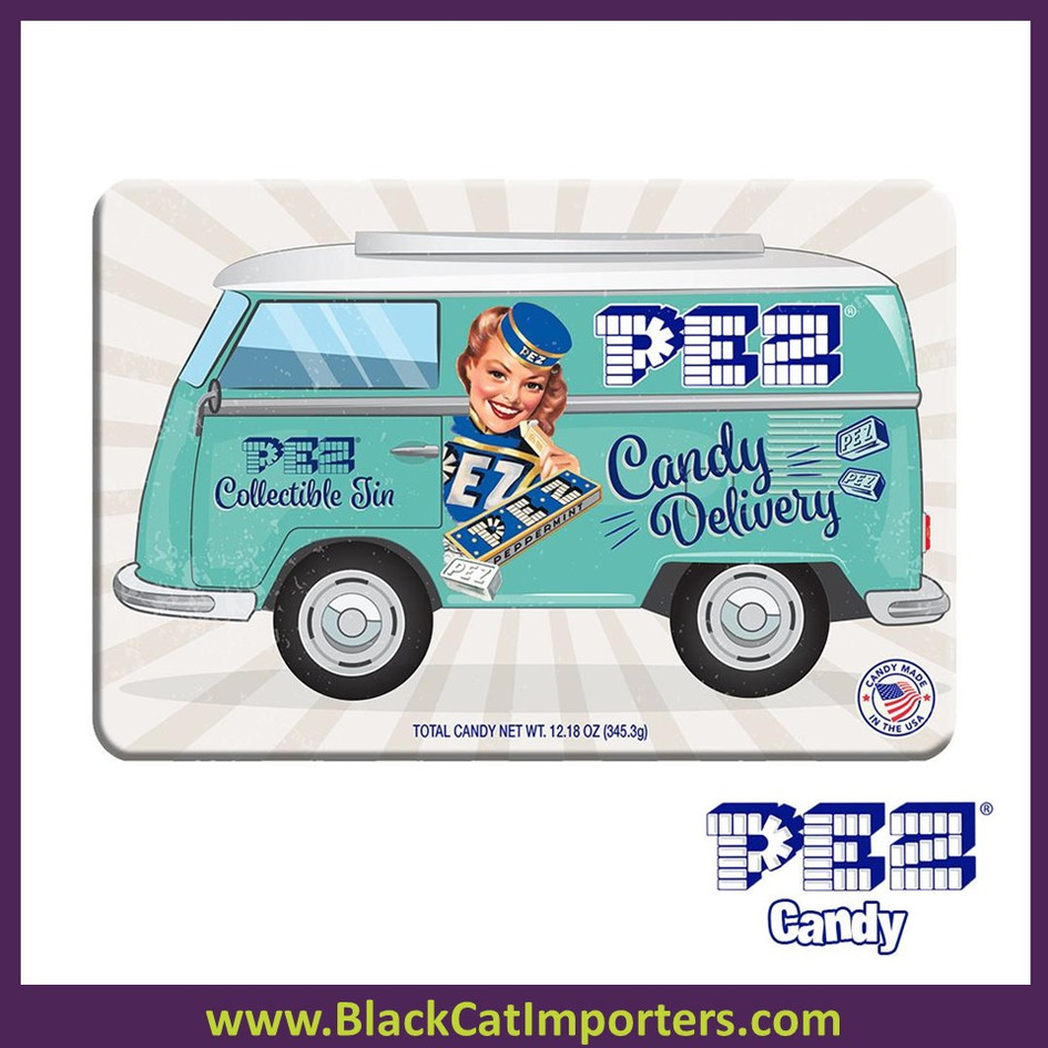 PEZ Candy Nostalgia Gift Tin 6ct