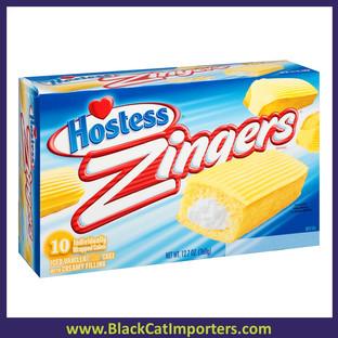 Hostess Iced Vanilla Zingers 10ct 12.7oz