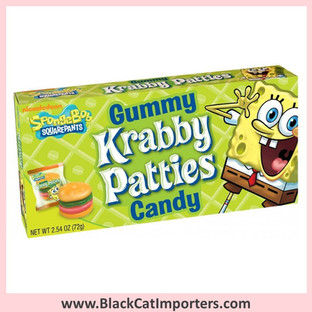 SpongeBob Gummy Krabby Patties / Original / Theater Box