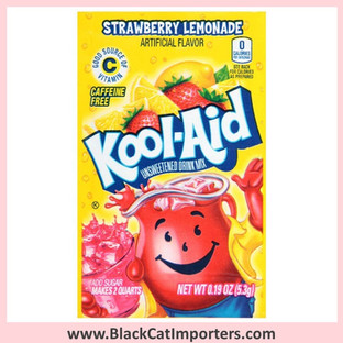 Kool-Aid Unsweetened Drink Mix / Strawberry Lemonade