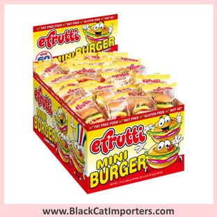 EFrutti Mini Burger Gummies