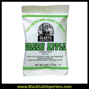 Claey's Old Fashioned Hard Candy Green Apple 24/6 Oz