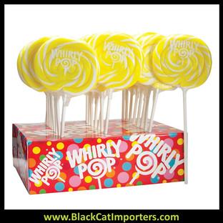 Whirly Pop Colors - Yellow (Lemon Flavor) 24-42.5g