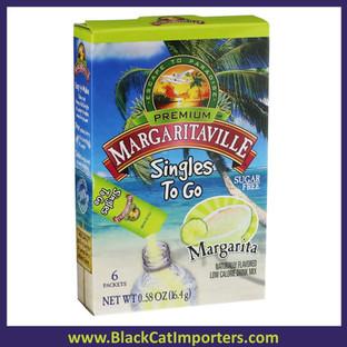 Margaritaville Margarita Singles to Go Drink Mix, 12x6 Packets