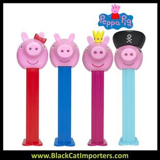 Pez Blister Packs - Peppa Pig Assortment 12ct Display