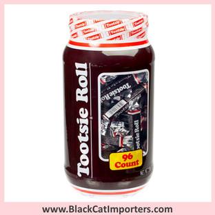 TootsieRoll Chocolate Bars 96 Count Jar